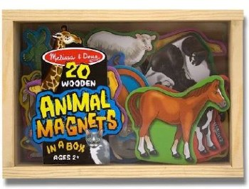 Melissa & Doug Magnets in a Box- Animals
