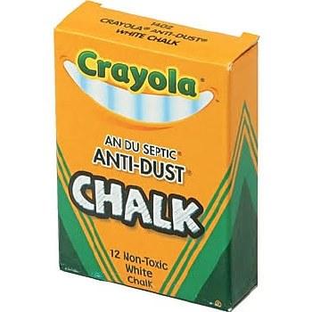 Crayola Anti-Dust Chalk, 12ct