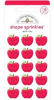School Days Shape Sprinkles- Apple A Day