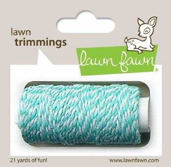 Lawn Fawn Trimmings Cord- Aquamarine