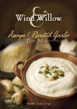 Wind & Willow Dip Mix- Asiago & Roasted Garlic