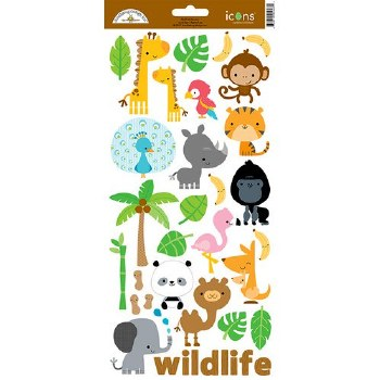 At The Zoo Stickers- Icons 1