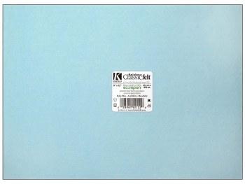 """Rainbow Classic Felt, 9""""x12""""- Baby Blue"""