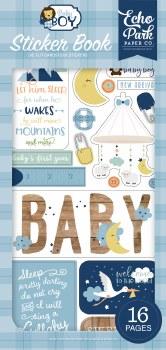 Baby Boy Stickers- Sticker Book