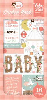 Baby Girl Stickers- Sticker Book