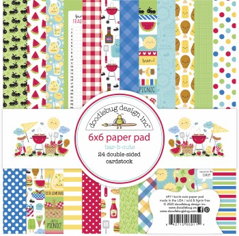 Bar-B-Cute 6x6 Paper Pack