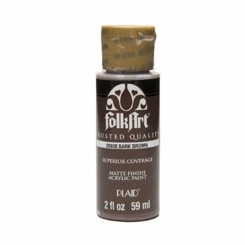 FolkArt 2 Oz. Acrylic Paint- Bark Brown