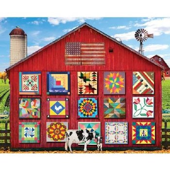 Barn Quilts - 1,000 Piece Puzzle
