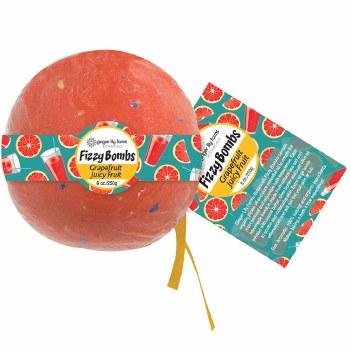 8oz Bath Bomb- Grapefruit Juicy Fruit