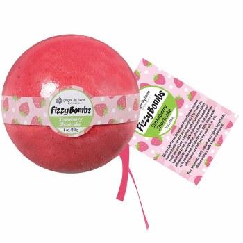8oz Bath Bomb- Strawberry Shortcake
