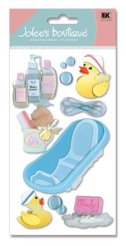 Jolee's Baby Dimensional Stickers, Large- Bathtime
