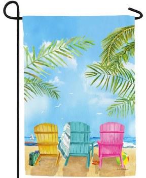 Garden Flag, Suede- Beach Chairs