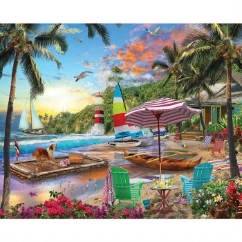Beach Holiday - 1,000 Piece Puzzle