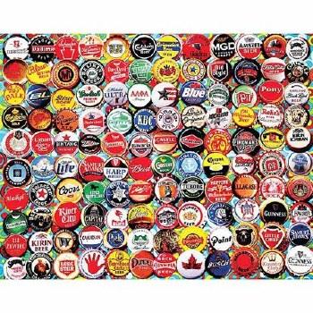 Beer bottle Caps - 550 piece puzzle