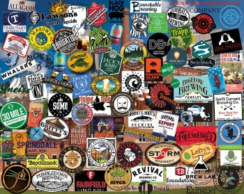 Craft Beer, New England - 1,000 Piece Puzzle