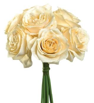 Ashley Rose Wedding Bouquet- Beige