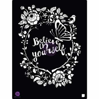 Prima Marketing 8x10 Stencil- Believe In Yourself