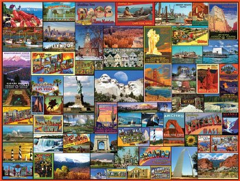 Best Places in America - 1000 piece puzzle