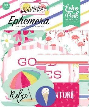 Best Summer Ever Ephemera Die Cuts