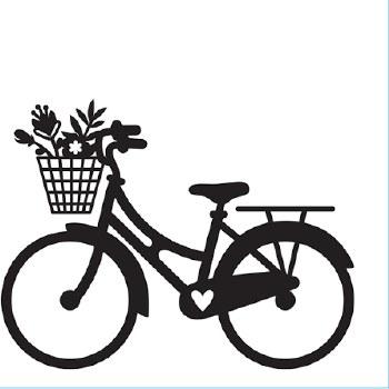 Darice Embossing Folder- Bike