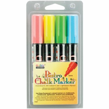 Bistro Chalk Marker Set A- 4 pack