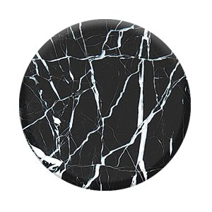 PopSockets- Marble, Black