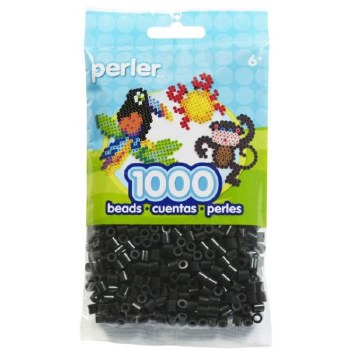 Perler Beads 1000 piece- Black