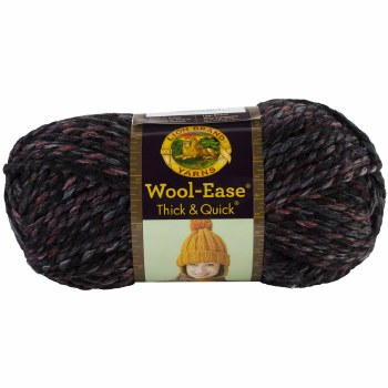 Wool Ease Thick & Quick Yarn- Blackstone Stripes
