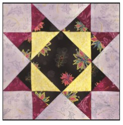 Enchanted Floral Quilt Block of the Month- Block #12