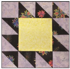 Enchanted Floral Quilt Block of the Month- Block #5
