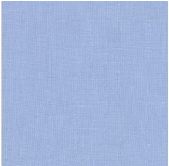 "Kona Cotton 44"" Fabric- Blues- Blue Bell"
