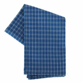 "Window Pane 20""x28"" Tea Towel- Provincial Blue & Cream"