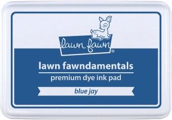 Lawn Fawn Premium Dye Ink- Blue Jay