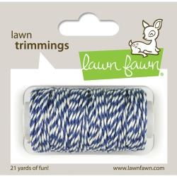 Lawn Fawn Trimmings Cord- Blue Jay