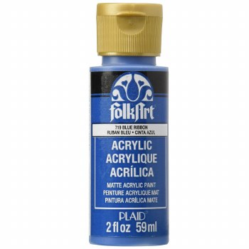 FolkArt 2 Oz. Acrylic Paint- Blue Ribbon