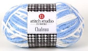 Chateau Yarn-Blue/White