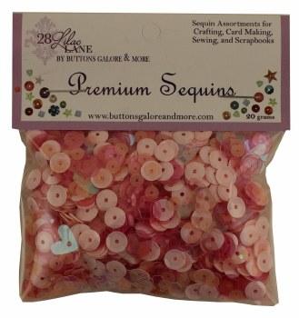28 Lilac Lane Premium Sequins- Blush