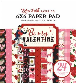 Be My Valentine 6x6 Paper Pad