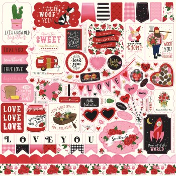 Be My Valentine Sticker Sheet