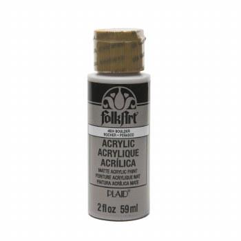 FolkArt 2 Oz. Acrylic Paint- Boulder