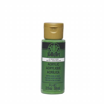 FolkArt 2 Oz. Acrylic Paint- Bright Green