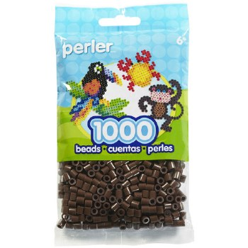 Perler Beads 1000 piece- Brown