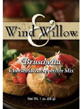 Wind & Willow Cheeseball & Appetizer Mix- Bruschetta