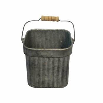 Galvanized Square Bucket