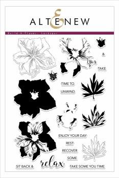 Altenew Build-a-Flower Stamp & Die Set- Larkspur