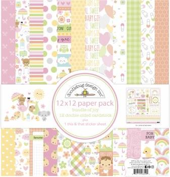 Bundle of Joy 12x12 Paper Pack