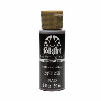 FolkArt 2 Oz. Acrylic Paint- Burnt Umber