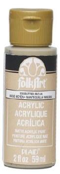 FolkArt 2 Oz. Acrylic Paint- Butter Pecan