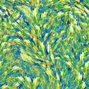 Butterfly Paradise Bolted Fabric- Butterfly Wing Texture, Green