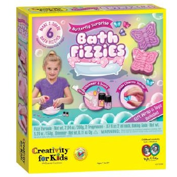 Creativity for Kids Craft Kit- Butterfly Surprise Bath Fizzies
